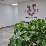 Adjust U logo